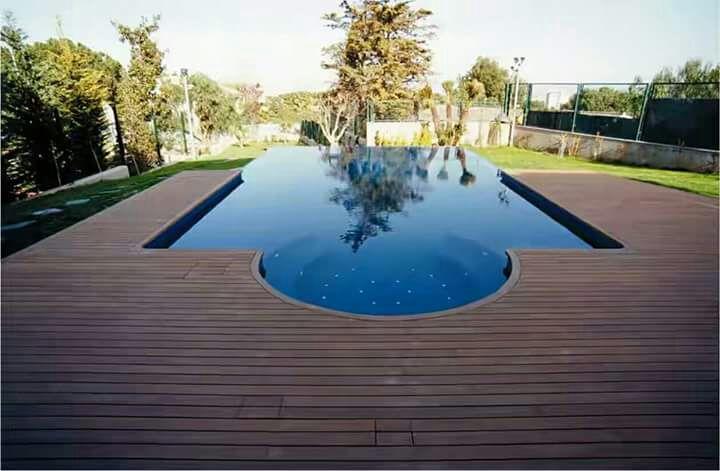 lantai kayu outdoor atau decking