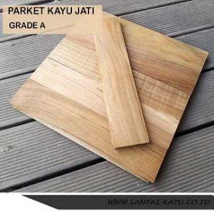 Parket Kayu Jati Grade A lantai