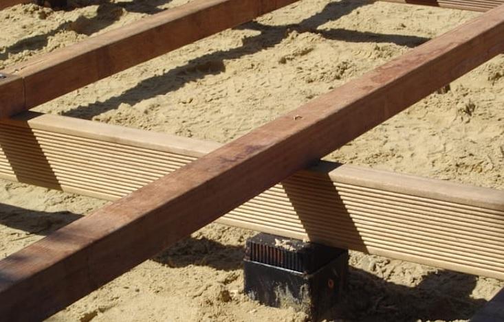 langkah 2 cara memasang decking kayu part 1
