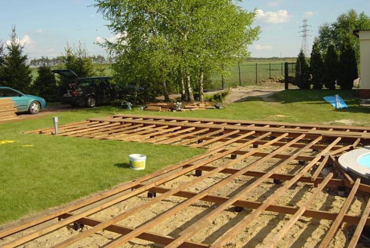 langkah 2 cara memasang decking kayu part 2
