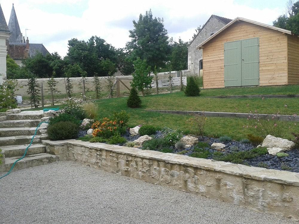 Amenagement Jardin En Pente Lantana Paysage