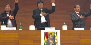 """Evo Morales: """"Con la mia rivoluzione oggi i boliviani decidono la propria politica economica, non Fmi o Banca mondiale"""""""