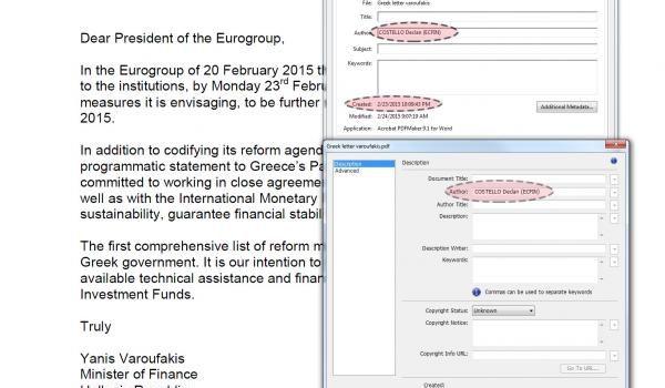 La firma digitale della Troika sulle riforme della Grecia: la prova da Zero Hedge