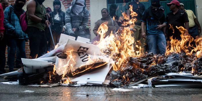 Messico: la gente si ribella al Nafta e per i media è il narcotraffico che ostacola la democrazia nel paese