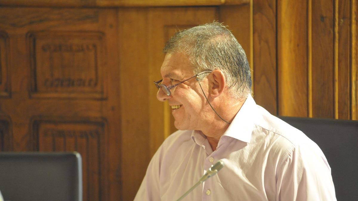 Miguel Flecha, diputado provincial de la coalición En Común. | DANIEL MARTÍN