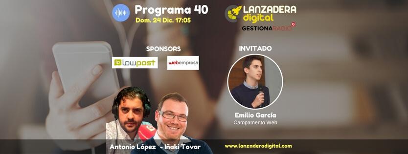 Emilio Garcia Campamento Web radio