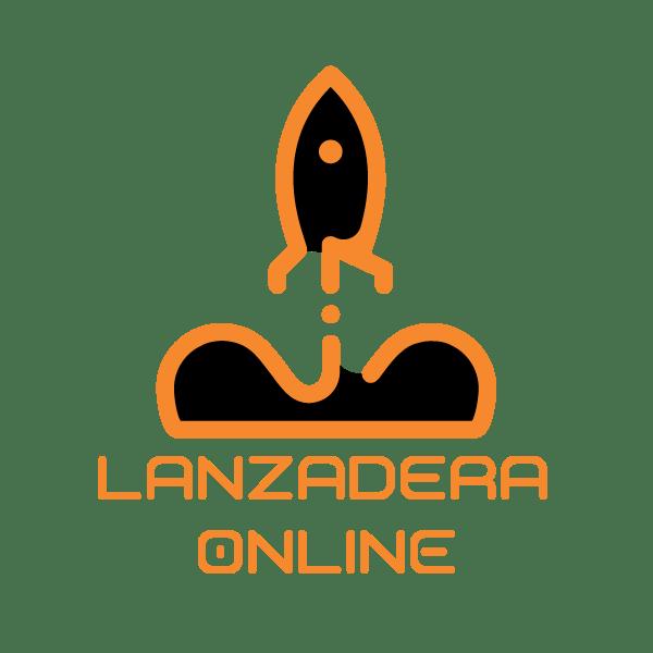2021 logo lanzadera online cuadrado