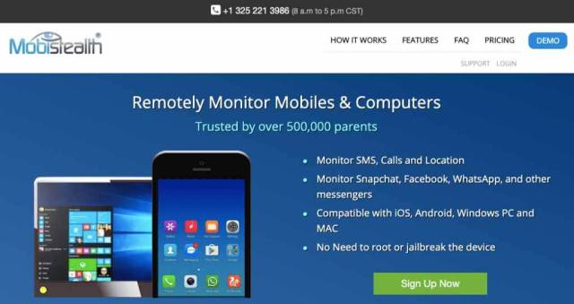 Mobistealth Remotely Monitoring App
