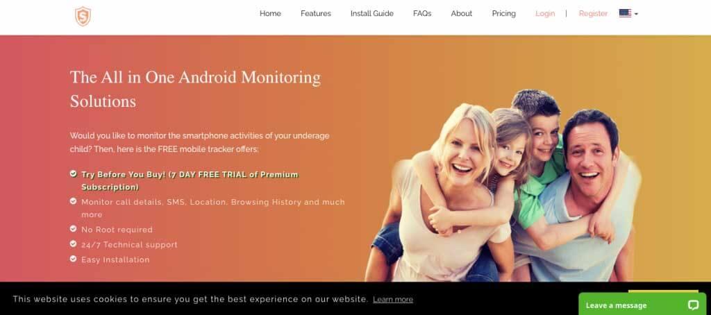 SpyHuman Android Monitoring
