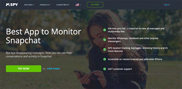 best app to monitor snapchat