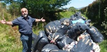 Tonnellate di rifiuti abbandonati: sequestrato centro distoccaggio cinese