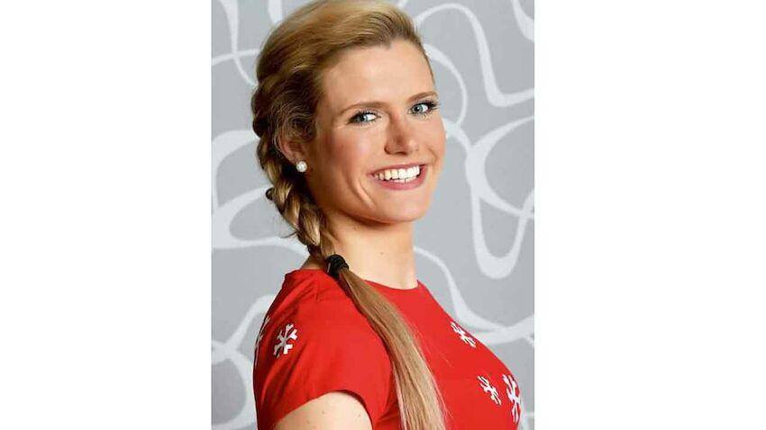 biathlon star gabriela soukalova hat