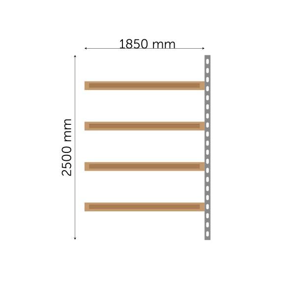 Meediumriiuli jätkuosa 2500x1850mm