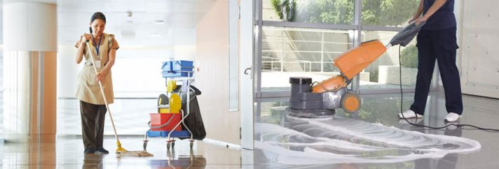 commercial cleaning services.