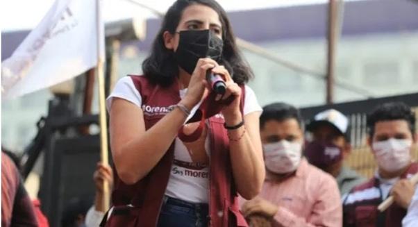 Los conservadores no le van a ganar al pueblo, y llegará la transformación a Michoacán: Giulianna Bugarini.