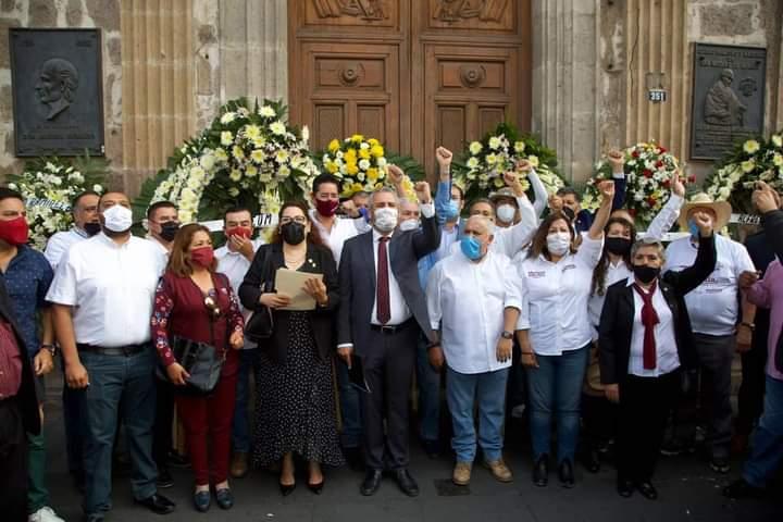 Alfredo Ramírez Bedolla compromete el rescate de la UMSNH, de la mano de los Nicolaitas.