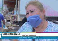 ESTÁ MUY BIEN EL APOYO QUE NOS ESTÁ DANDO EL MUNICIPIO: SRA. ESTELA RODRÍGUEZ