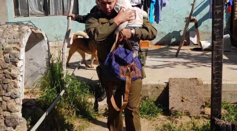 Limache: Rescatan a menor de 6 meses que estuvo abandonado durante 3 días