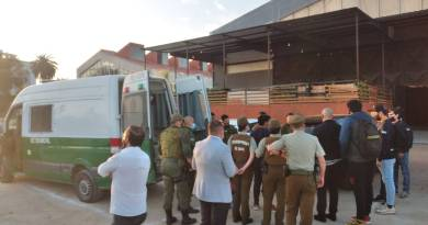 Fiesta clandesina en Quillota dejó más de 60 detenidos