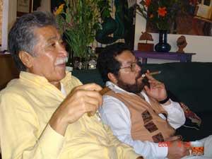 Carlos Maciel y su hermano Leonel Maciel: Foto: JAL