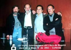 Nicolás Suescún, Jotamario Arbeláez, JA Leyva y Rafael del Castillo