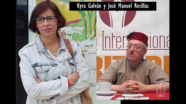 Kyra Galván y José Manuel Recillas