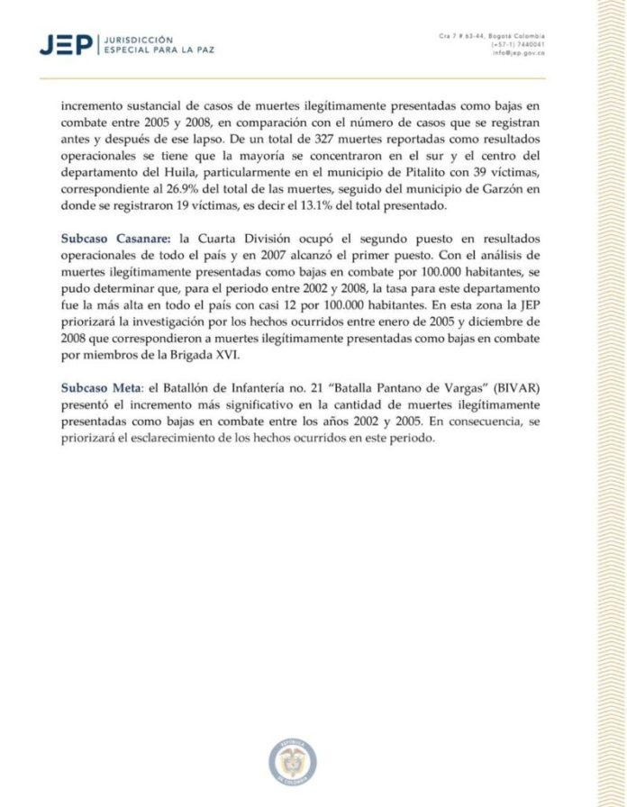 """""""Falsos positivos"""" en periodo presidencial de Álvaro Uribe Vélez son más que los reportados por la Fiscalía"""