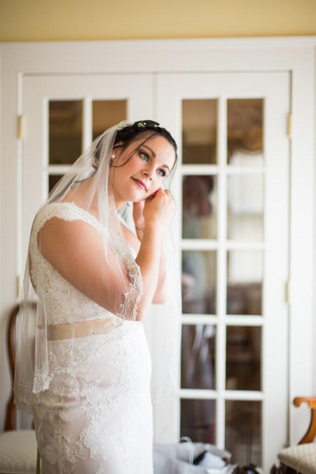 candlelight farms inn wedding | la page makeup