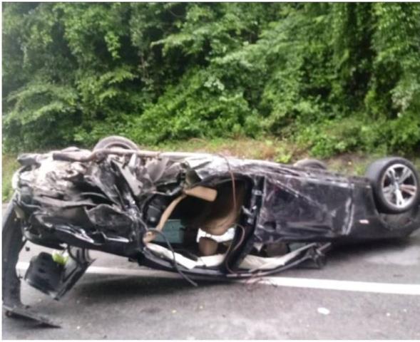 El excajista Kuzmic sufre un grave accidente de tráfico