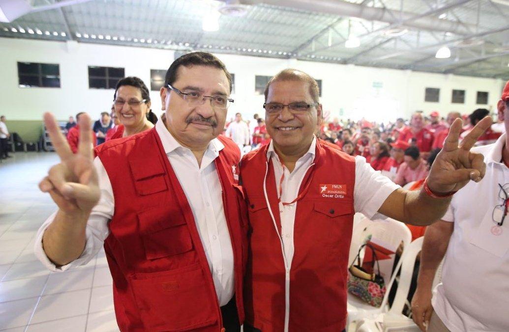 Óscar Ortiz asume como Secretario General del FMLN