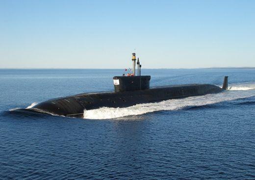 El submarino ruso que se incendió tenía propulsión nuclear