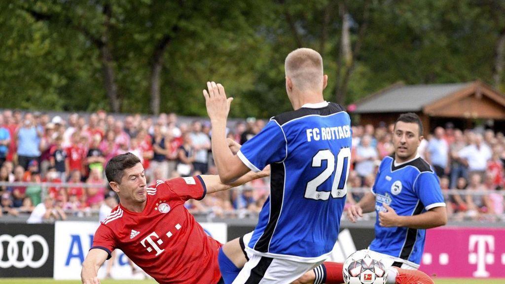 ¡Qué goleada! Bayern Munich ganó 23-0 en un amistoso
