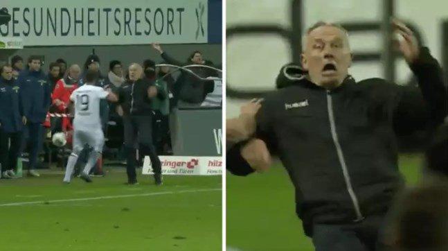 Golpea al técnico rival y se arma la bronca en la Bundesliga