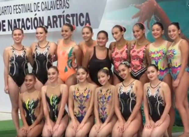 Atletas salvadoreños en la rama de natación artística destacan en México - Diario La Página