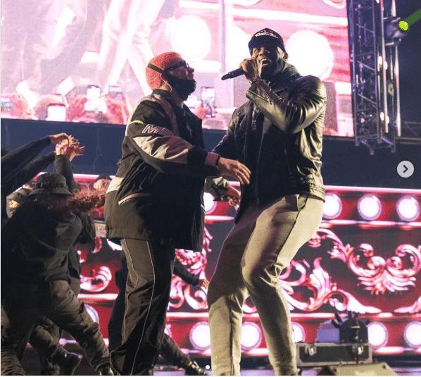 LeBron James sorprendió a Bad Bunny en su concierto en Los Ángeles