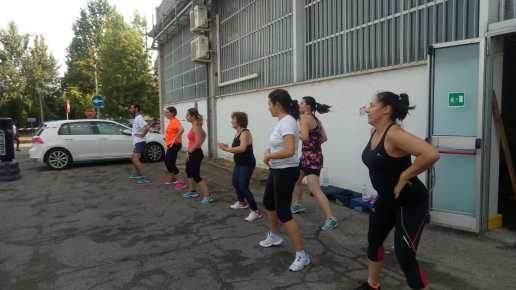 Zumba Fitness all'aperto