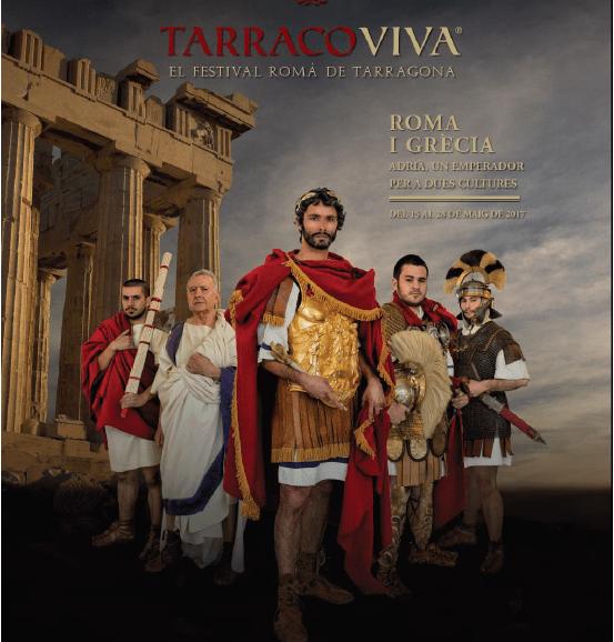 Cartell anunciador Tarraco viva