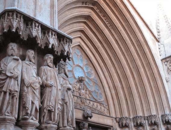 Façana de la catedral de Tarragona