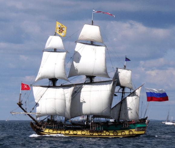 Vaixell rus Shtandart