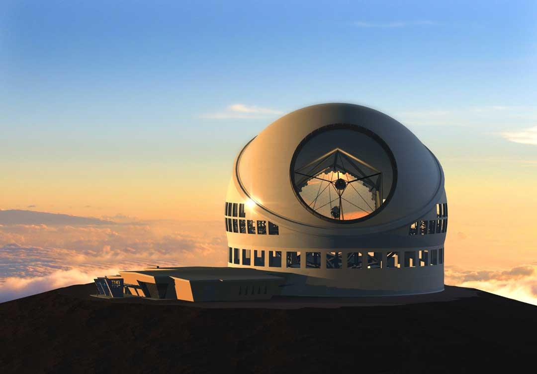 TMT telescoop la palma