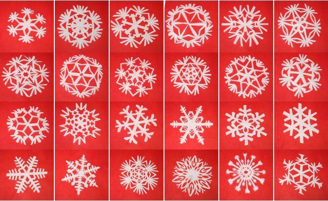 Tutorial Fiocchi Di Neve Di Carta Lapappadolce