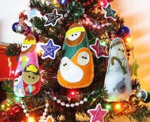 10 idee | scopri 10 meravigliosi lavoretti da fare per le feste natalizie utilizzando il pannolenci. Addobbi Natalizi Fai Da Te In Pannolenci 80 E Piu Modelli Lapappadolce