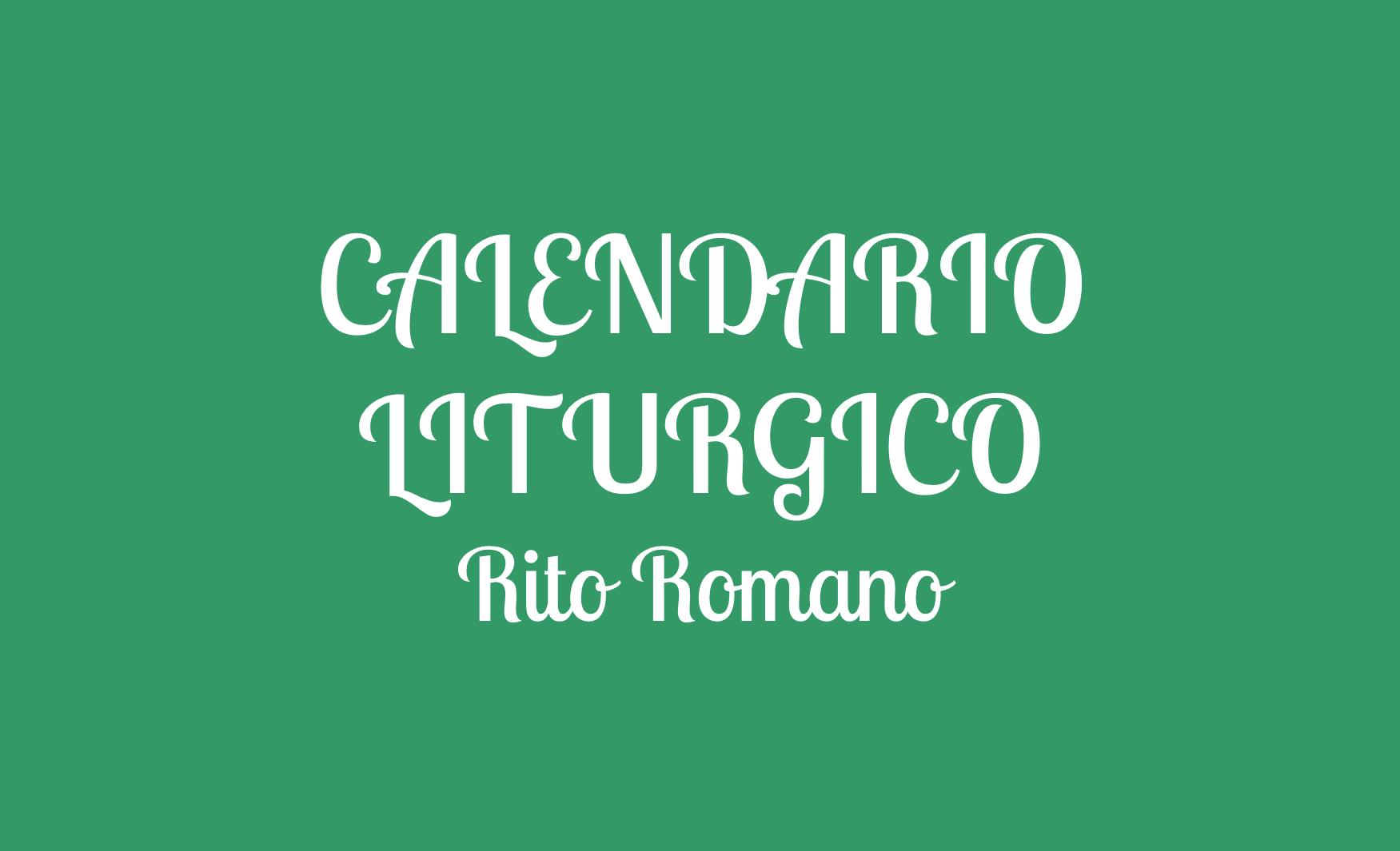 Aprile 2021 Calendario Liturgico Calendario Liturgico 2020 » LaParola.it