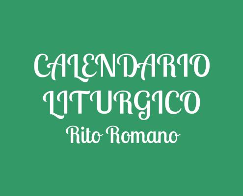 Calendario Liturgico » LaParola.it