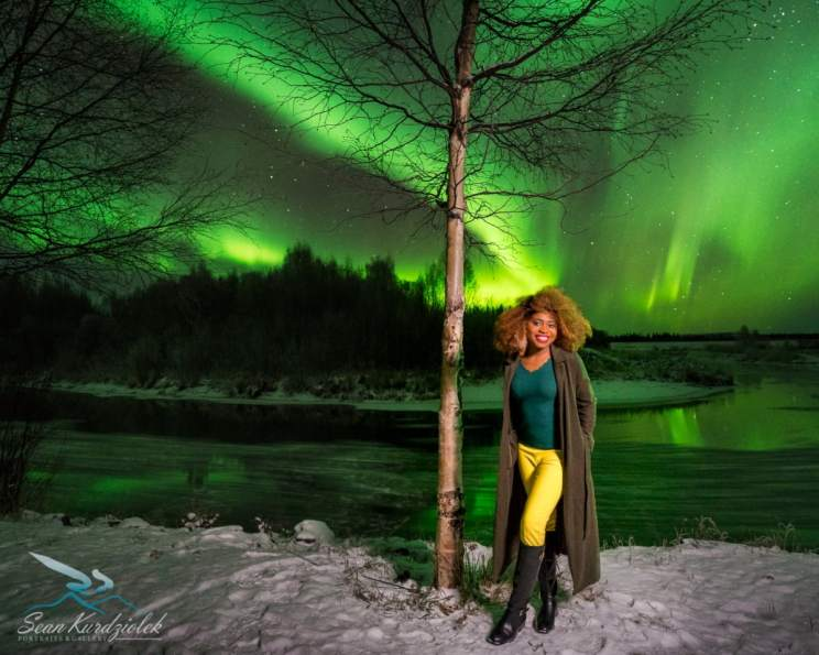 An awe inspiring view of the Northern Lights shot in Fairbanks. Keep reading to discover the best things to do in Fairbanks, Alaska on a budget. Make sure you cross off #5 from your bucket list.