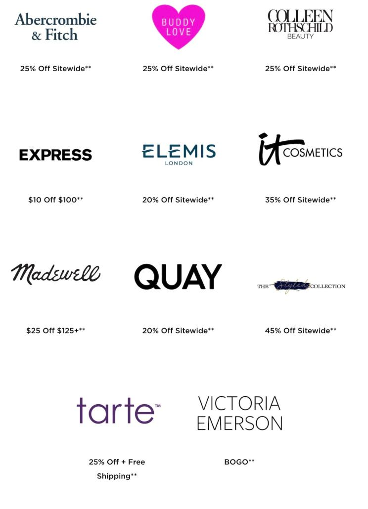 LTK Spring Sale 2021 Participating Brands and Retailers