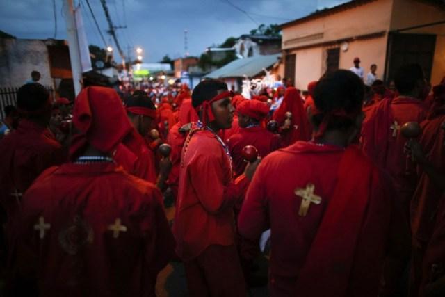 Tradición de los Diablos Danzantes de Yare, estado Miranda / Foto Archivo