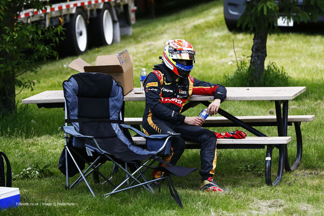 2014 Formula One Canadian Grand Prix, Circuit Gilles Villeneuve, Montreal, Quebec, Canada 6th - 8th June 2014 Pastor Maldonado, Lotus F1, Portrait, World Copyright: © Andrew Hone Photographer 2014. Ref: _ONY1071