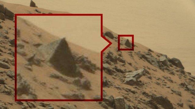 Las pirámides en Marte