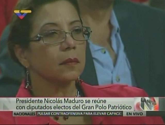 Tania Díaz. Foto: Captura VTV